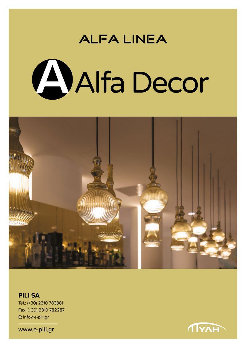 Alfa Linea Decor 2018