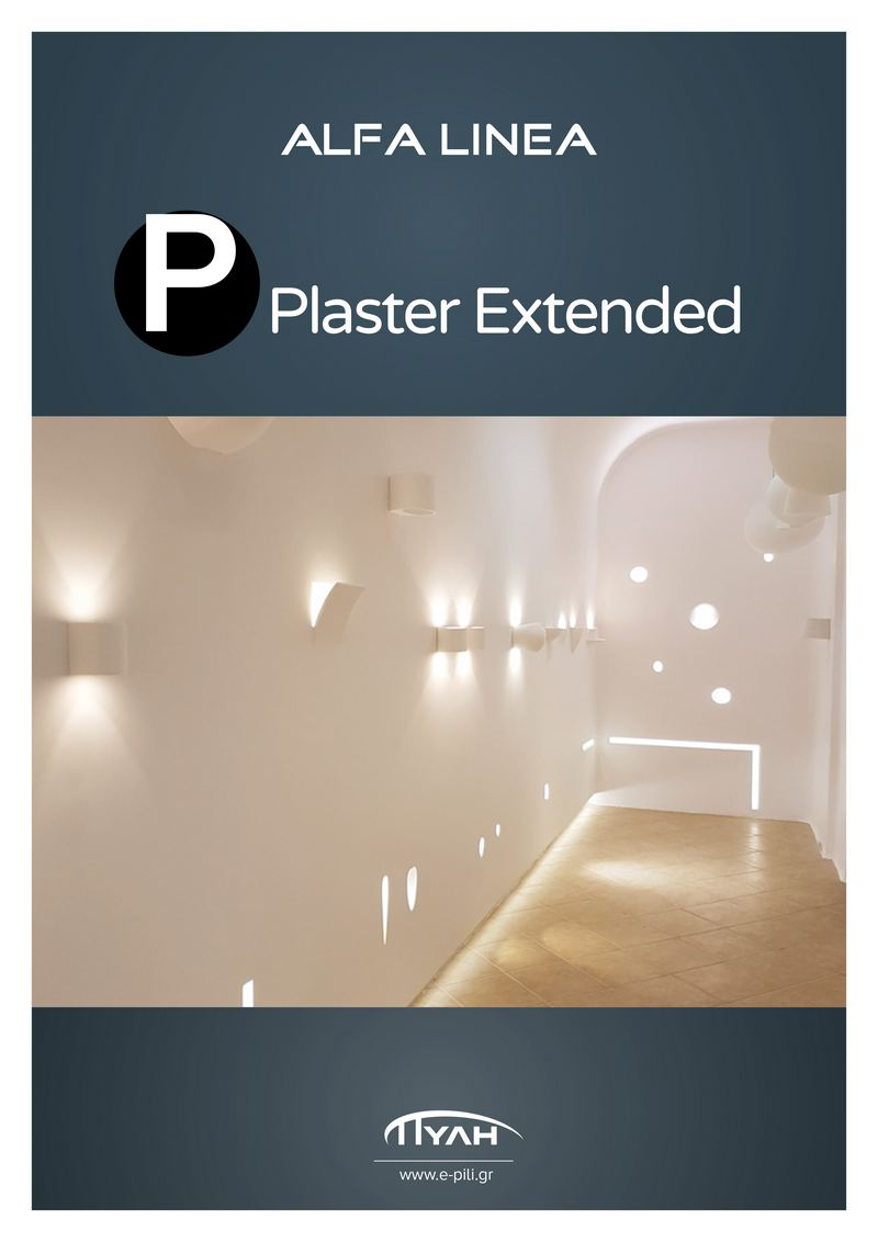 Alfa Linea Plaster Extended 2018