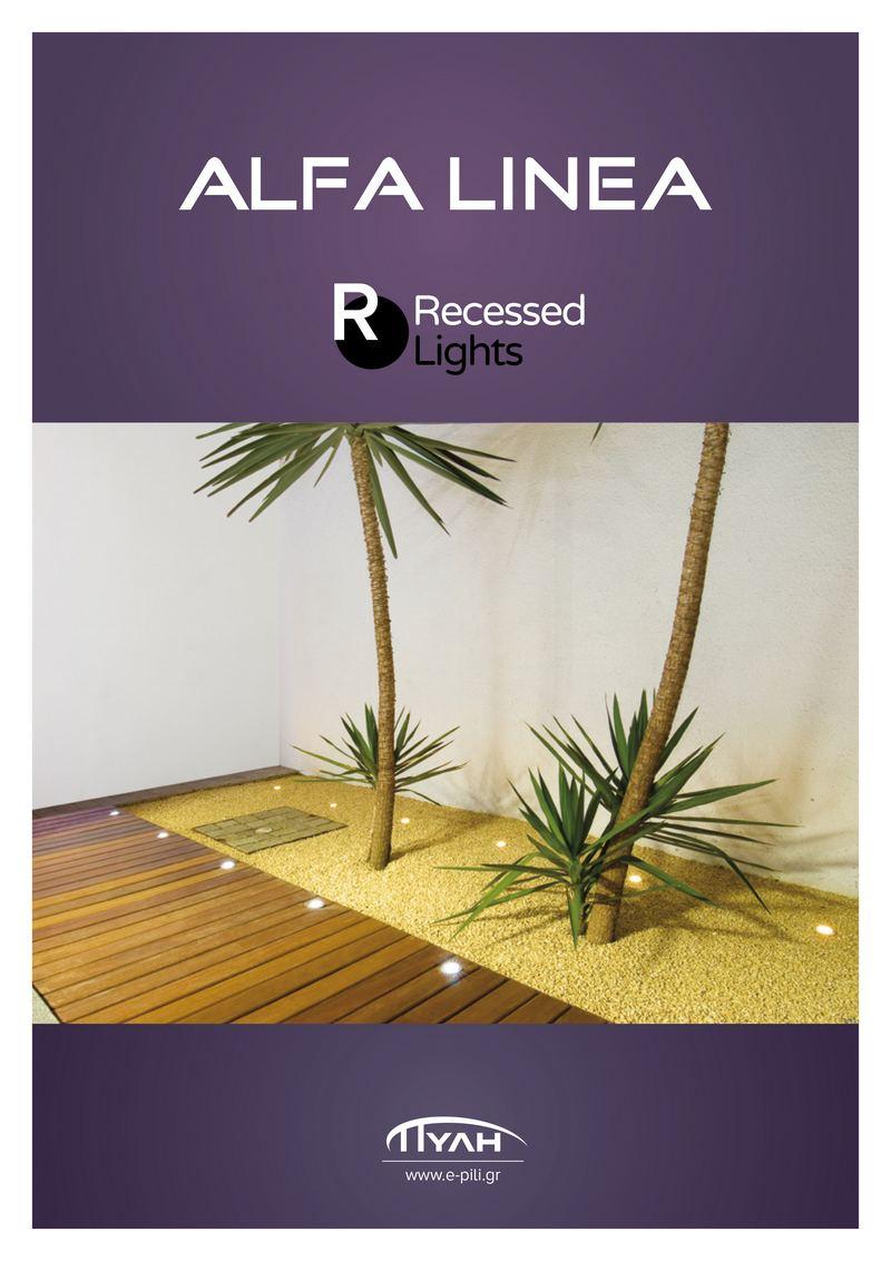 Alfa Linea Recessed 2019